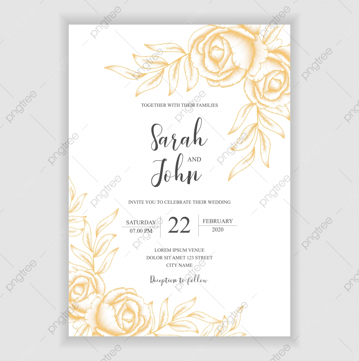 vintage wedding invitation png vector psd and clipart with transparent background for free download pngtree https pngtree com freepng floral vintage wedding invitation template with bouquet decoration 4835460 html