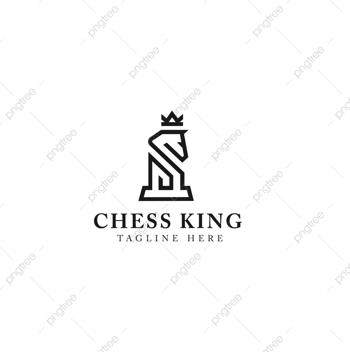 Horse King Logo Design Vector Template Template Download On Pngtree