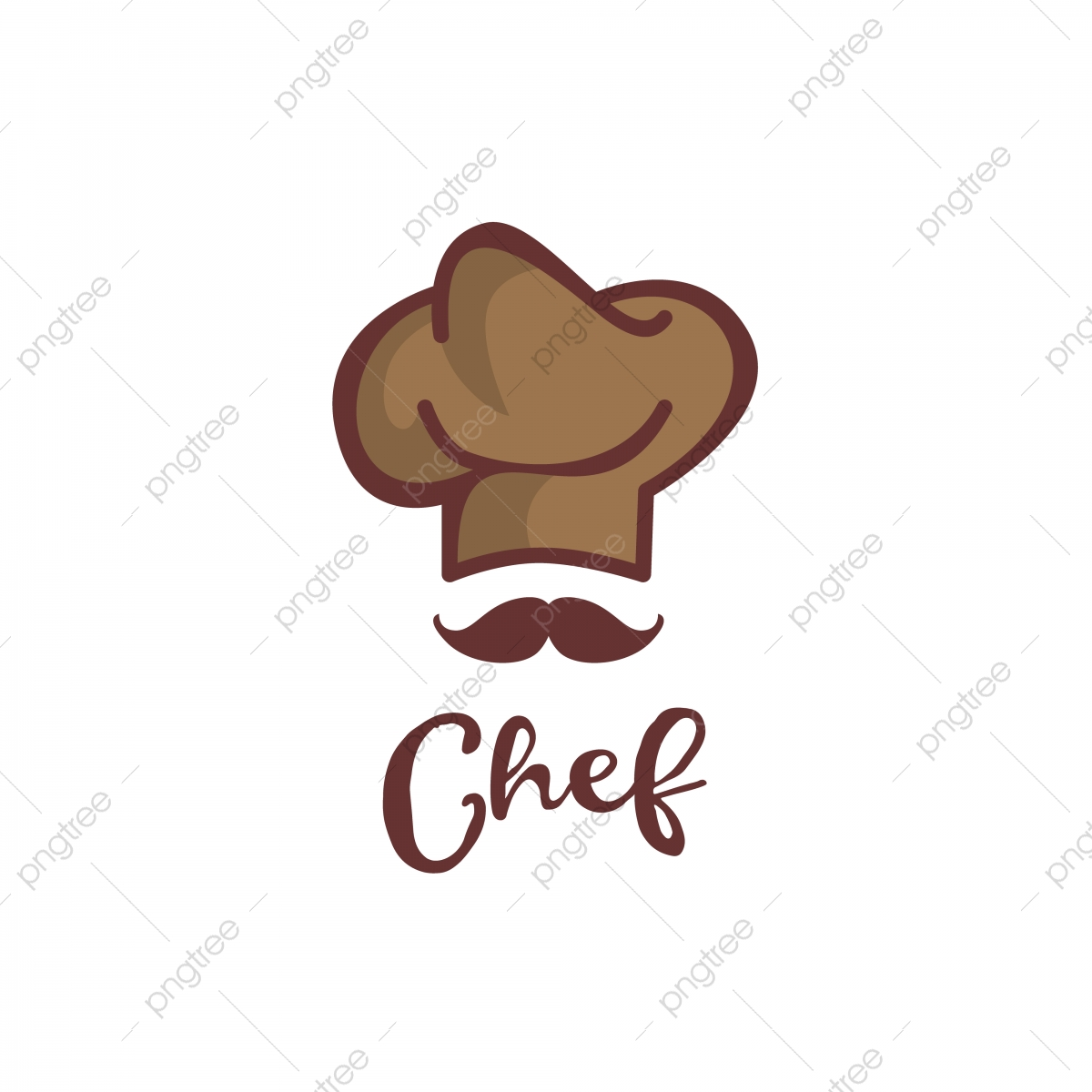 Mustache Chef Logo Restaurant Chef Food Png And Vector With Transparent Background For Free Download