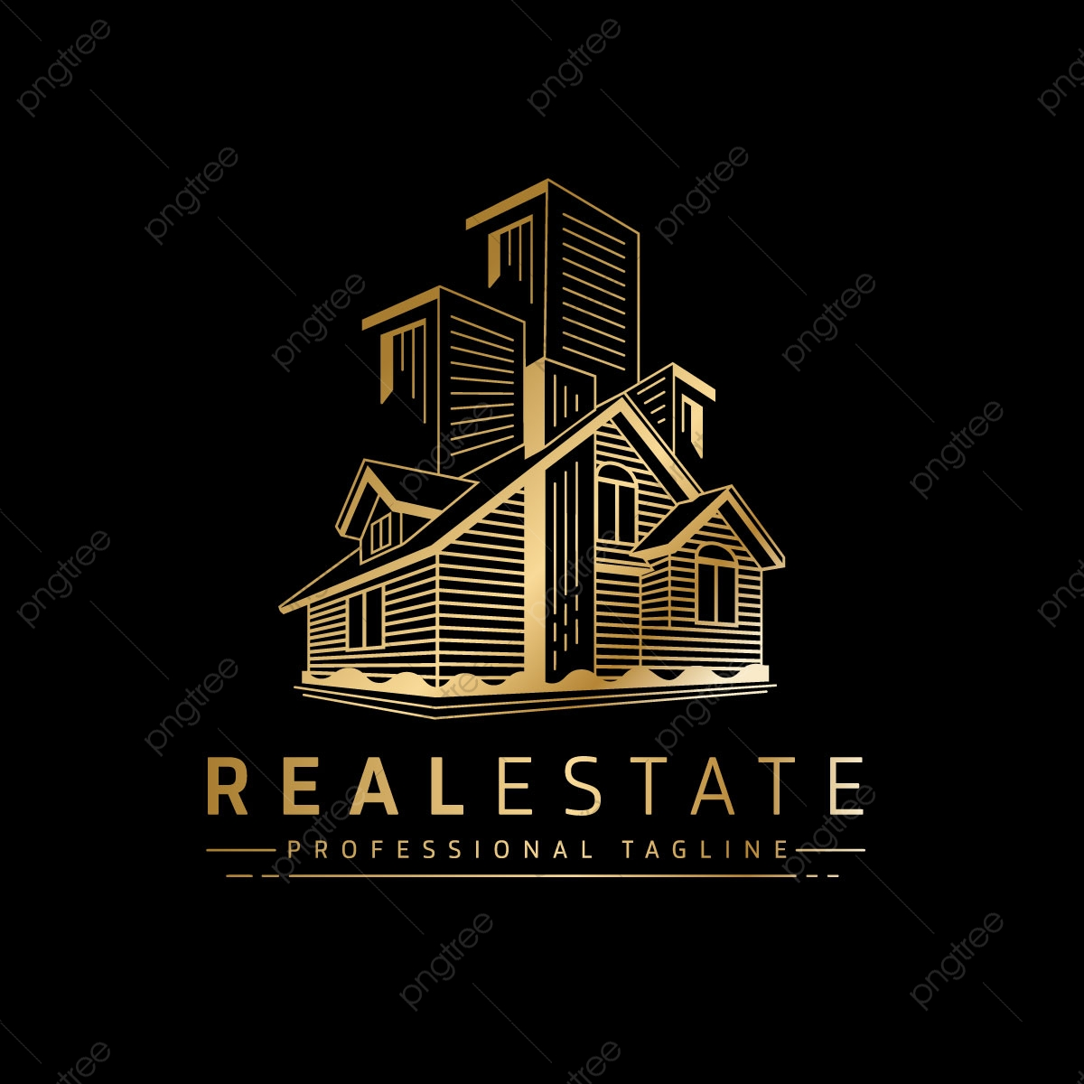 Real Estate Logo PNG Images | Vector and PSD Files | Free Download on  Pngtree