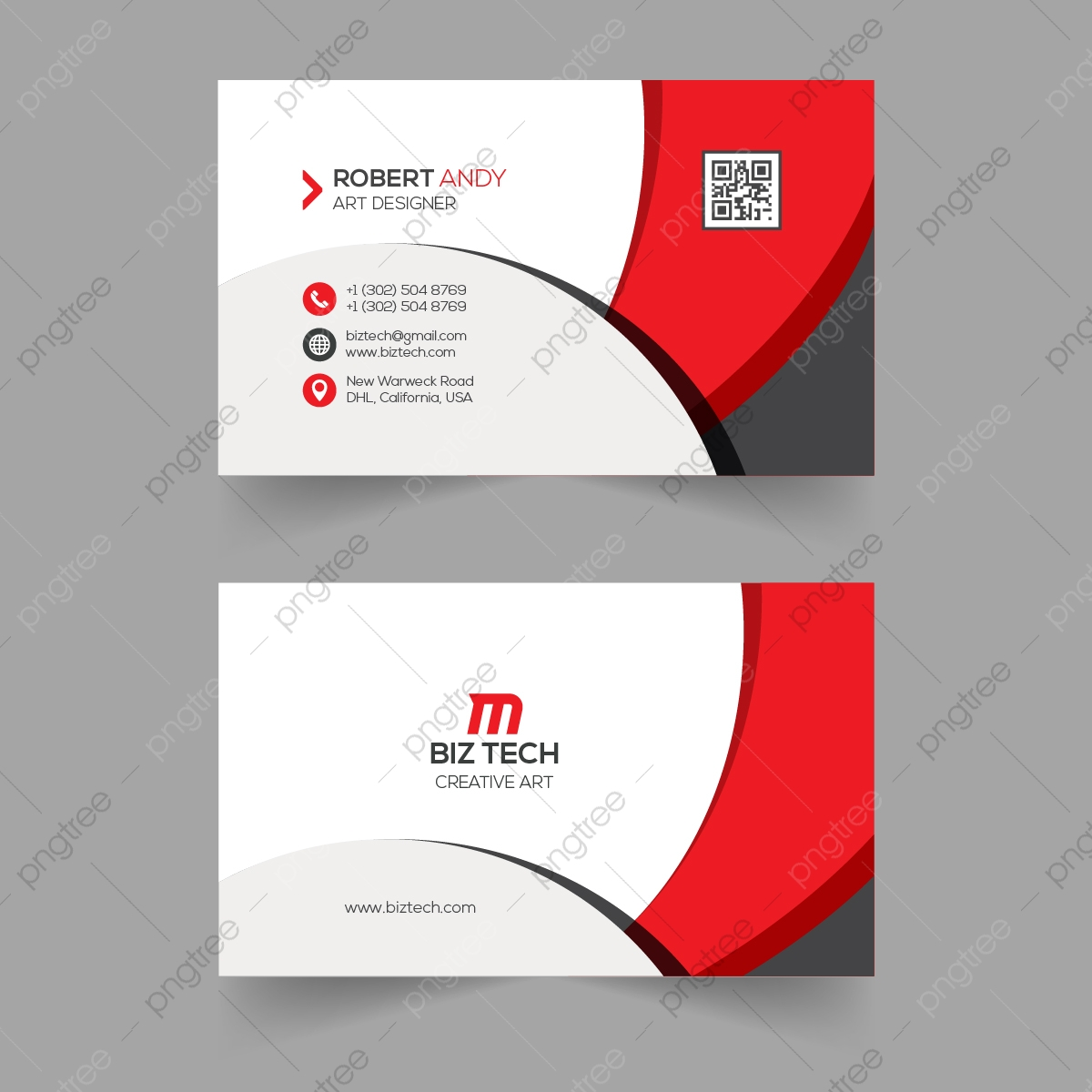 Biz Card Template from png.pngtree.com