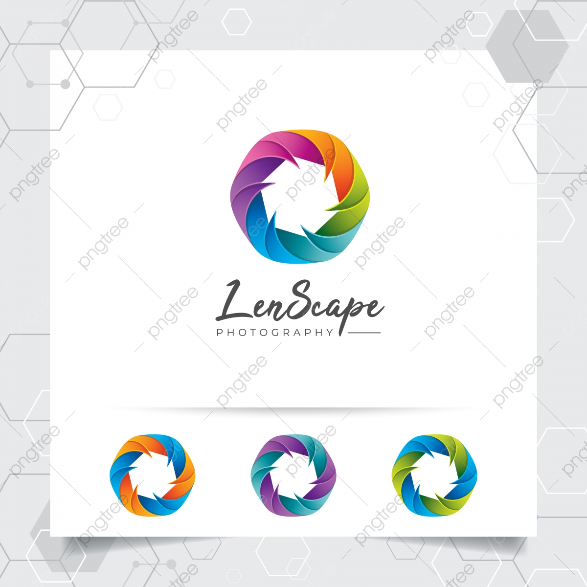 Camera Photography Logo Design With Concept Of Colorful Camera Lens Icon And Photo Vector For Photographer Studio Photo And Wedding Photography Template For Free Download On Pngtree