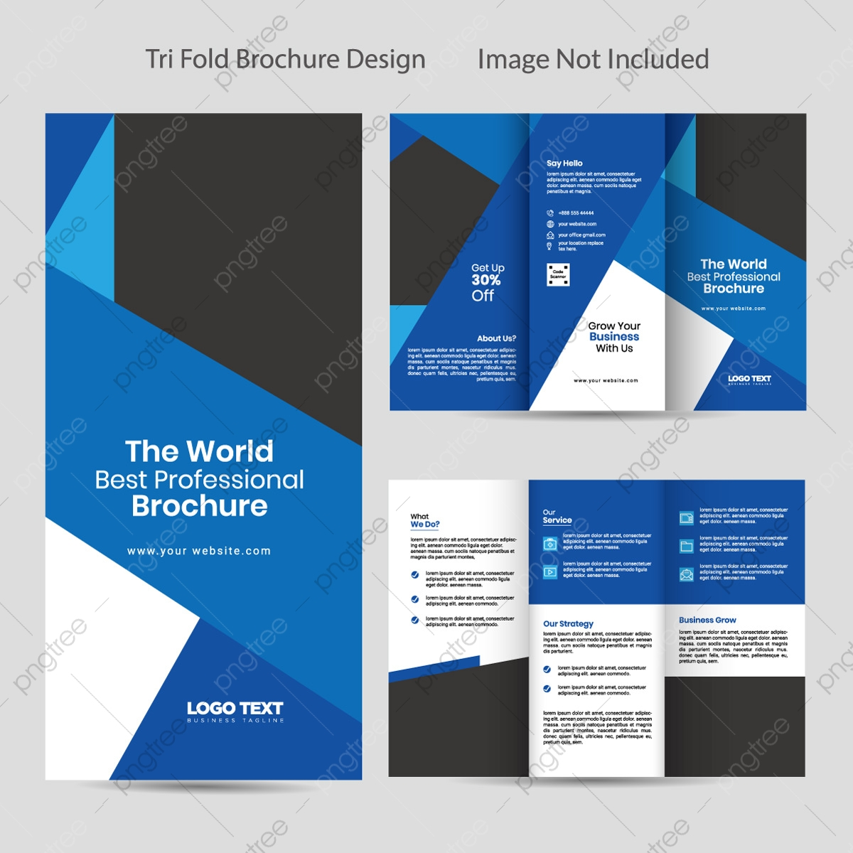 Tri Brochure Template from png.pngtree.com