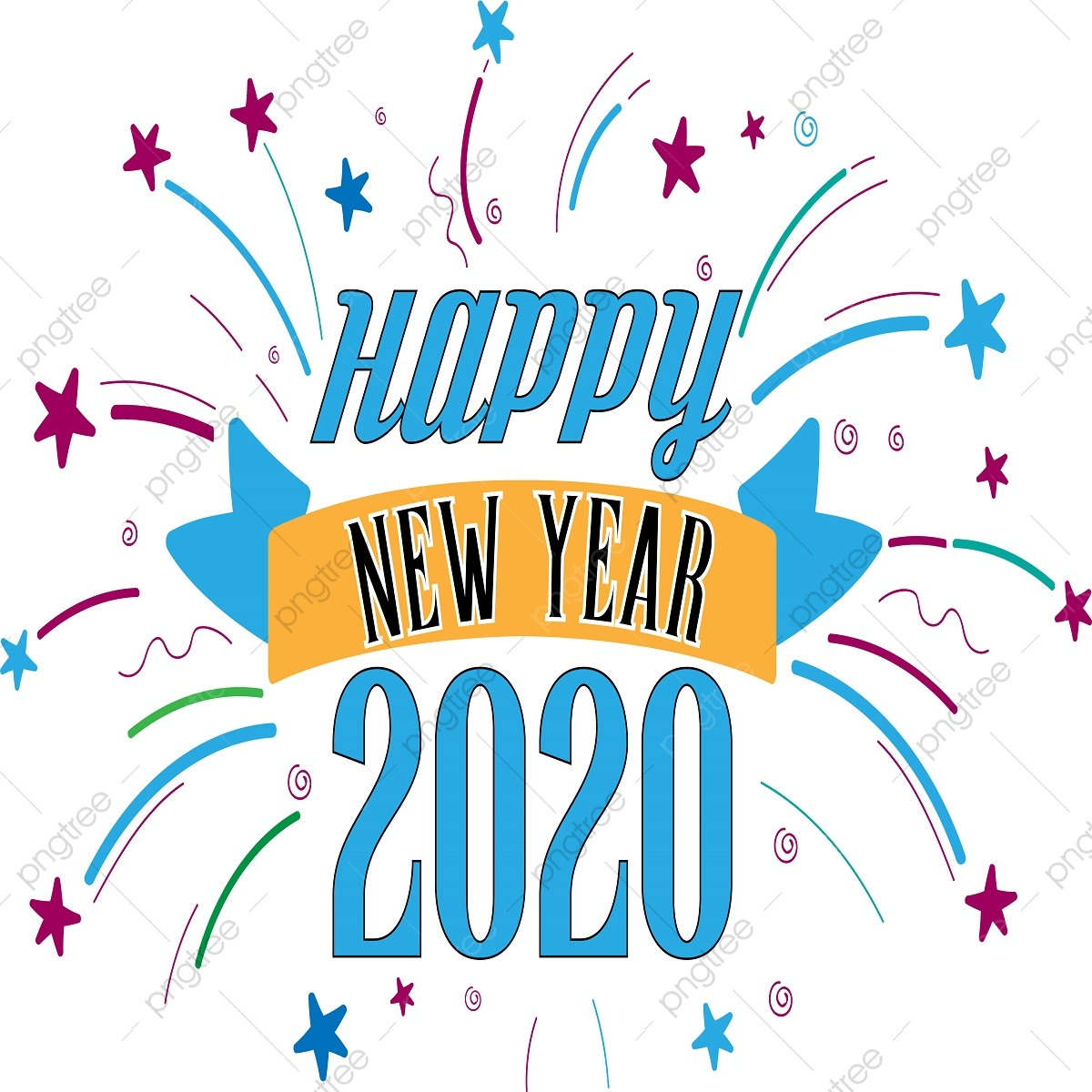 2018 clipart happy new years, 2018 happy new years Transparent FREE for  download on WebStockReview 2020