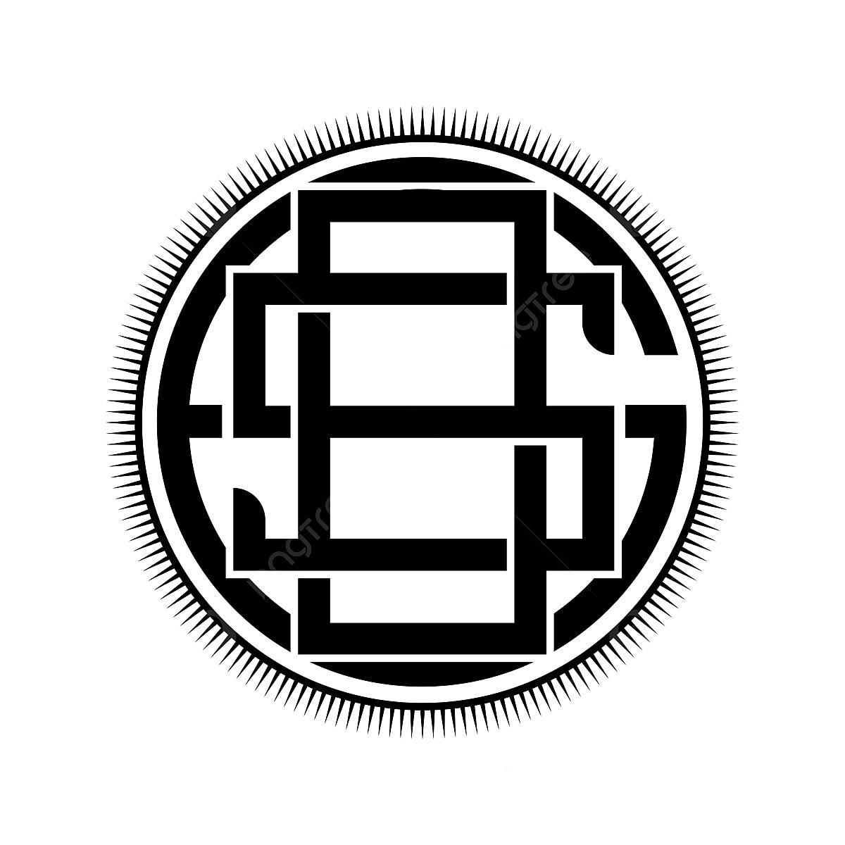 Monogram Design Initial Logo Sos Logo Vector Eps 10 Template For Free Download On Pngtree