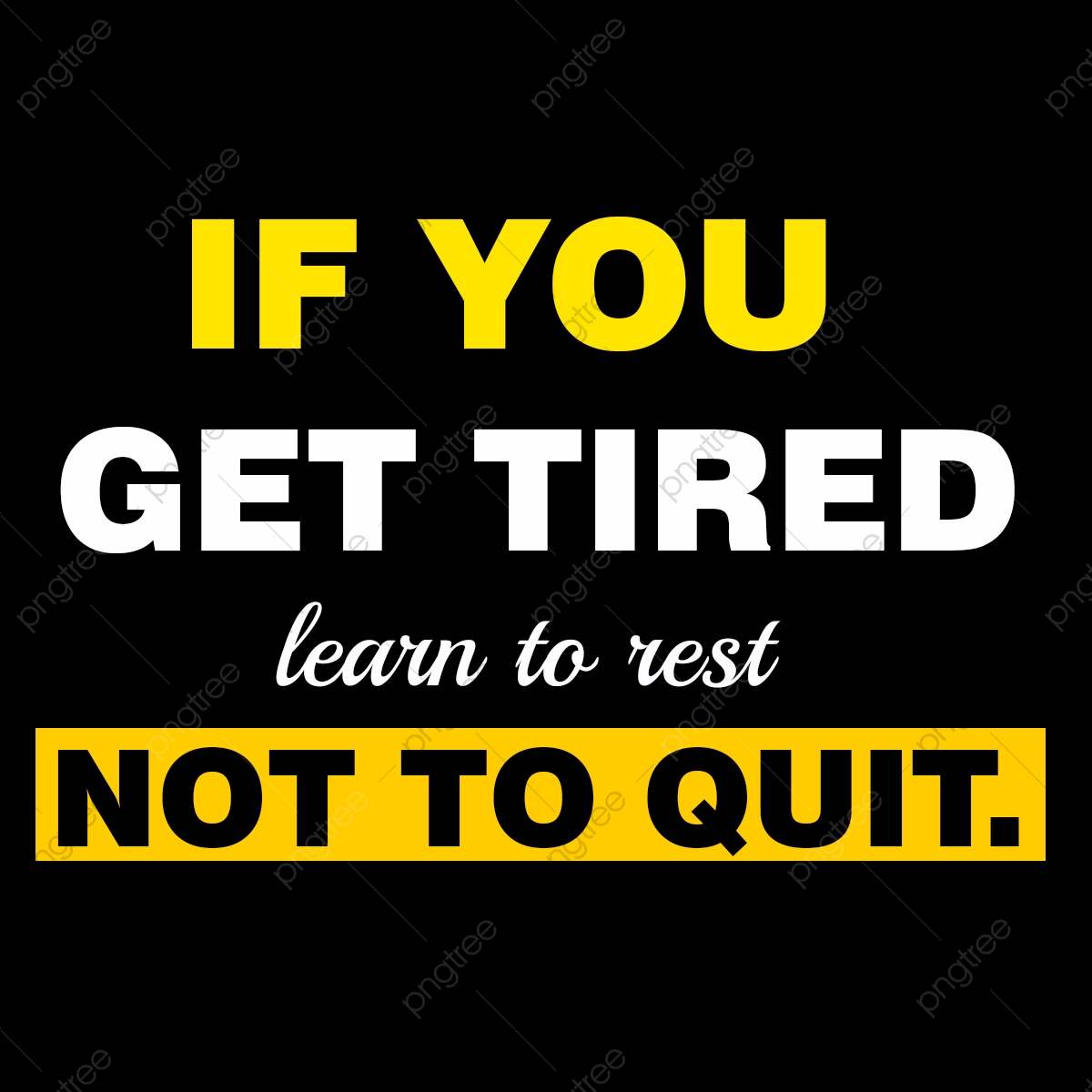 Not To Quit Fitness Motivational Image Quote Font Effect Psd For Free Download