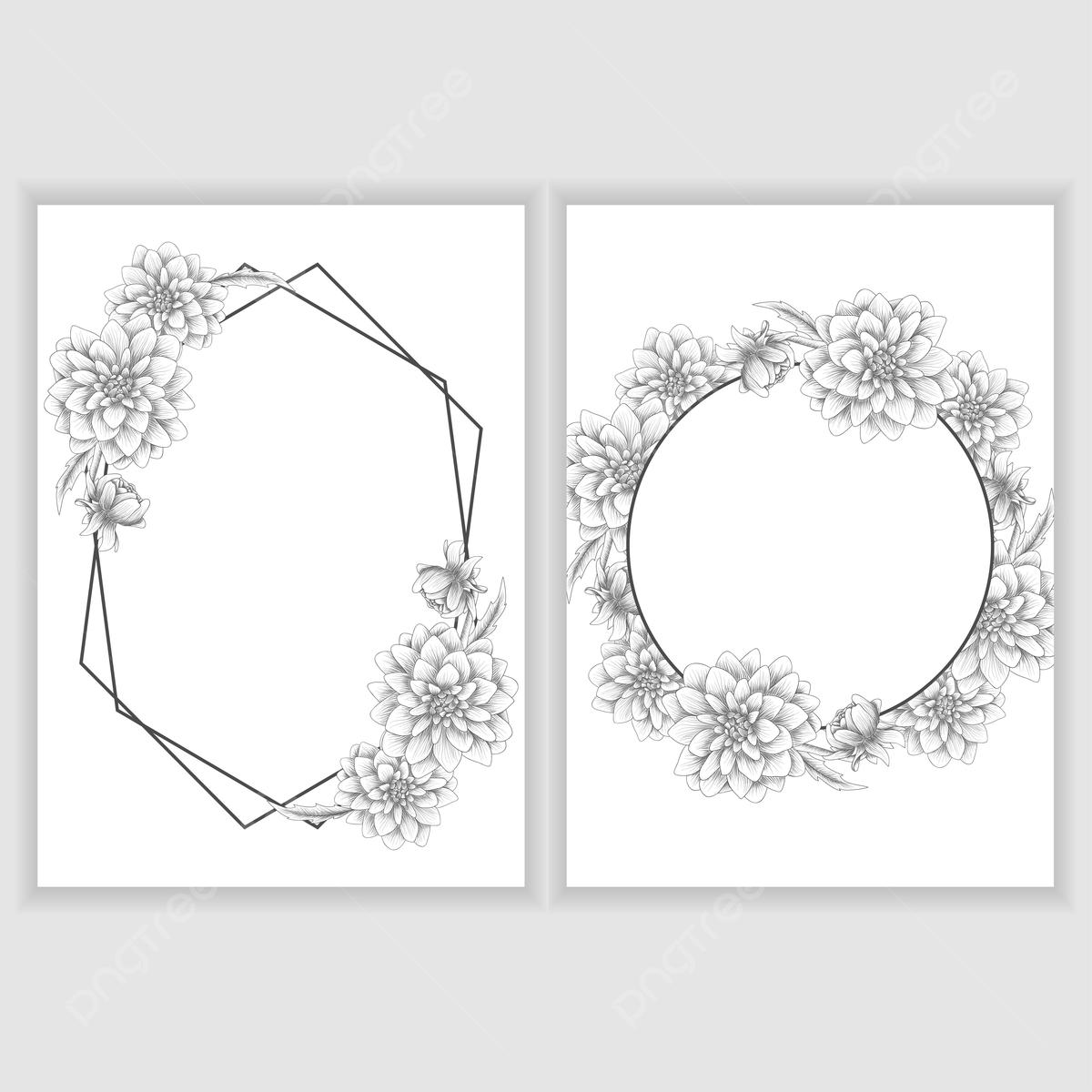 Gambar Sketsa Bingkai Png Vektor Psd Dan Clipart Dengan Latar Belakang Transparan Untuk Download Gratis Pngtree