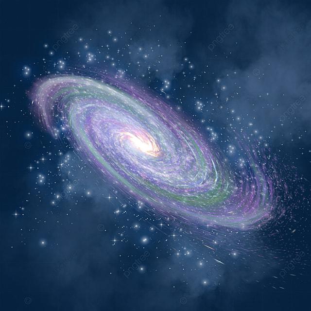 紫の拡散雲霧の渦巻星雲, 銀河のクリップアート, 紫の, 拡大画像とPSD ...