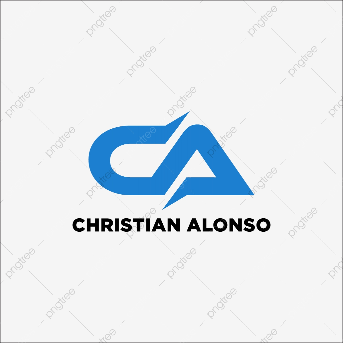 Ca C A Swoosh Letter Logo Design With Modern Vector Template For Free Download On Pngtree
