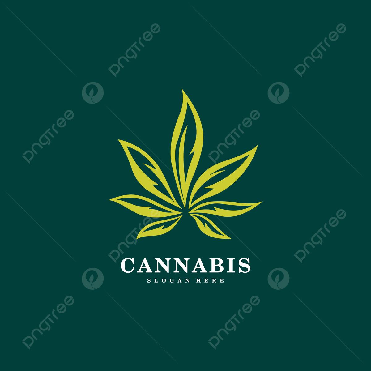 gambar ganja logo daun marijuana templat untuk muat turun percuma di pngtree ganja logo daun marijuana templat