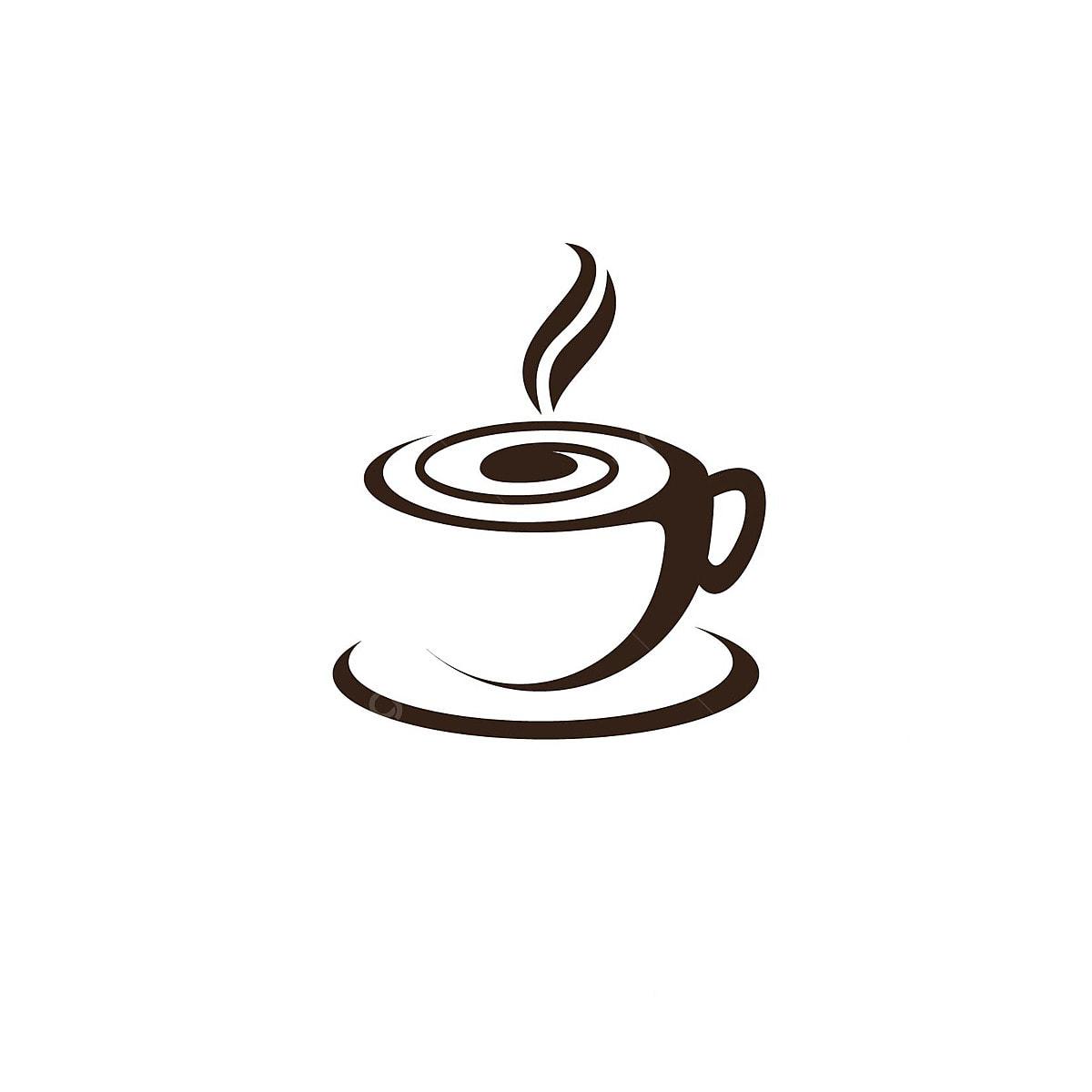 Taza De Cafe Vector Logo Design Template Design Coffee Shop Logo Icon Descarga Gratuita De Plantilla En Pngtree