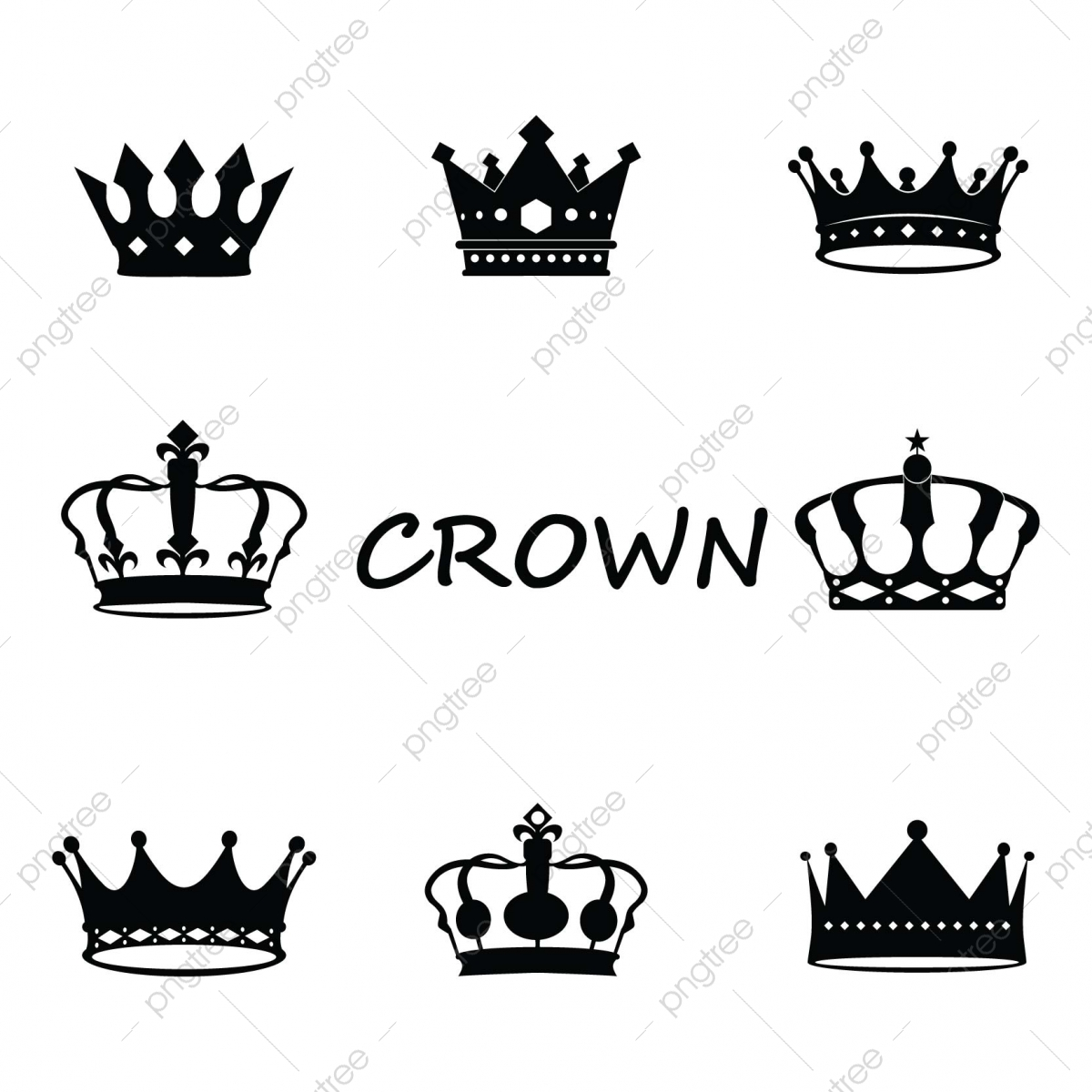 Crown Logos Luxury Corona Monograms Vector Image Icon Design Template Template For Free Download On Pngtree