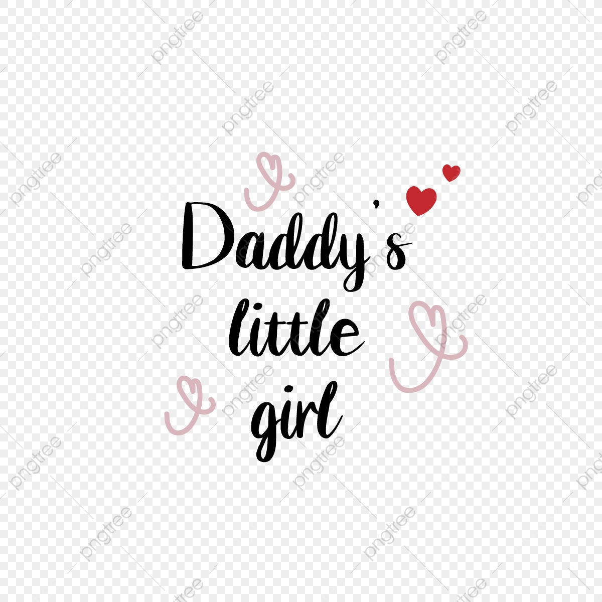 Dad S Little Girl Black Phrase Svg Font Effect Eps For Free Download