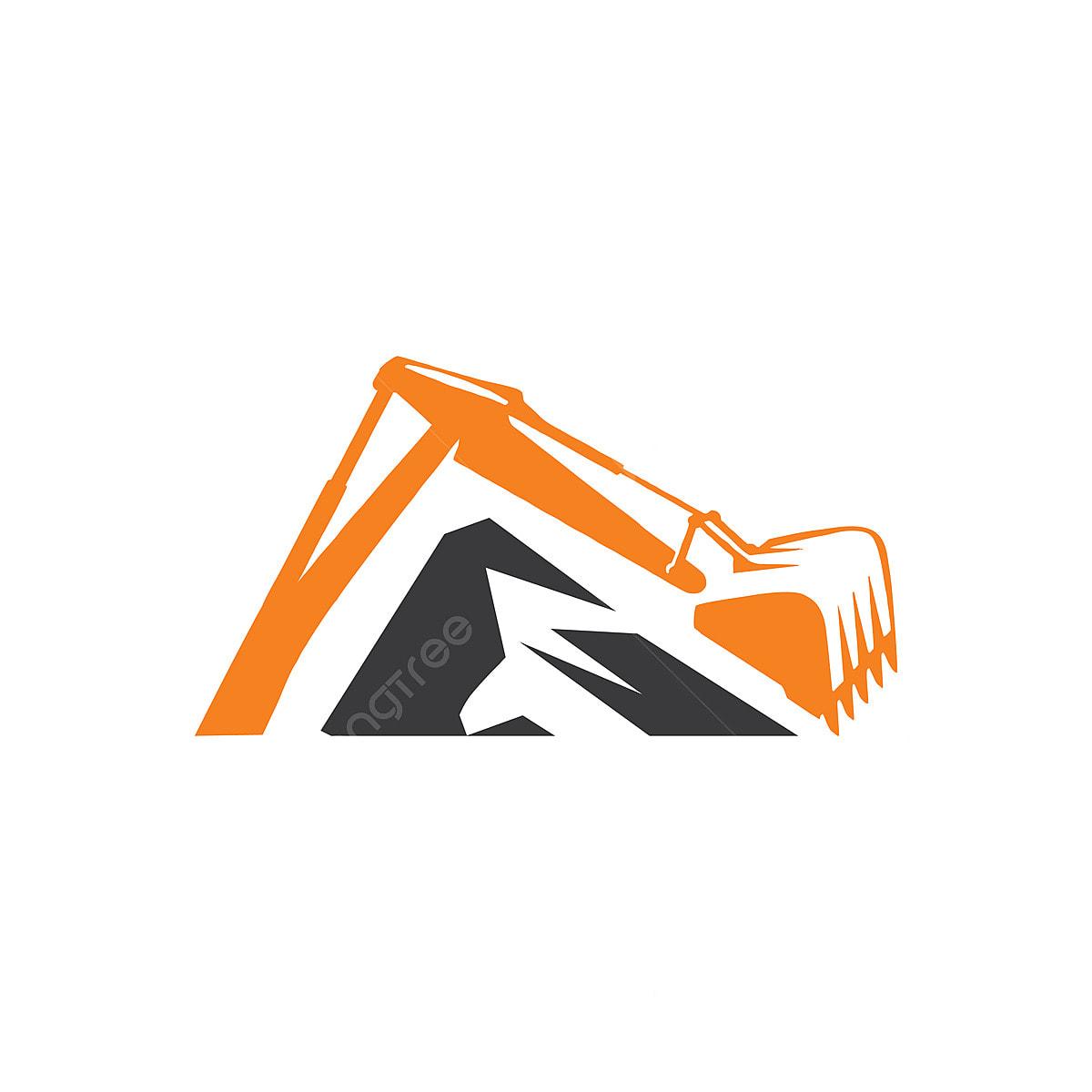 Excavator Logo Vector Symbol Illustration Transport Png And Vector With Transparent Background For Free Download