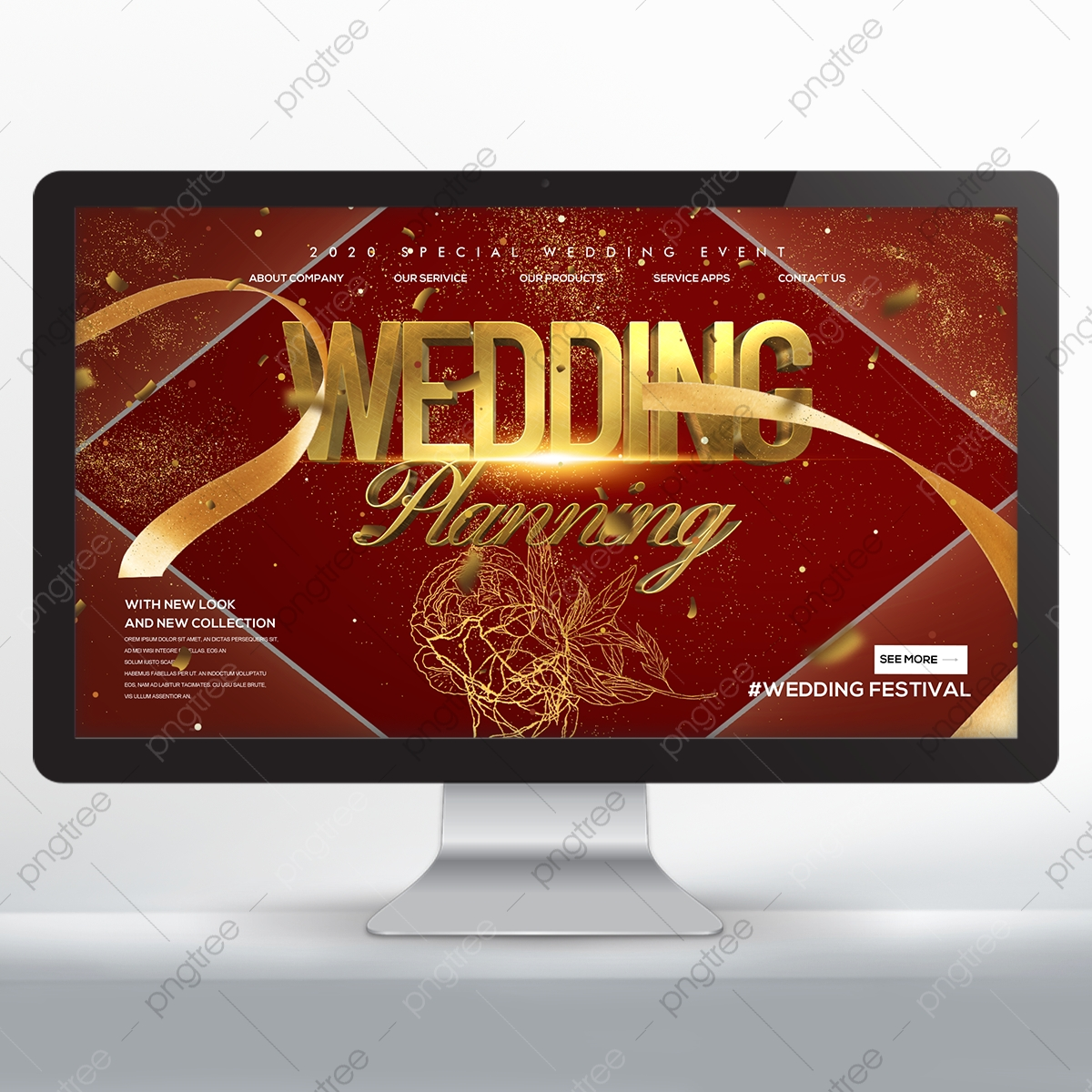 wedding banner png images vector and psd files free download on pngtree https pngtree com freepng fashion beautiful golden hand painted rose theme web wedding banner 5440466 html