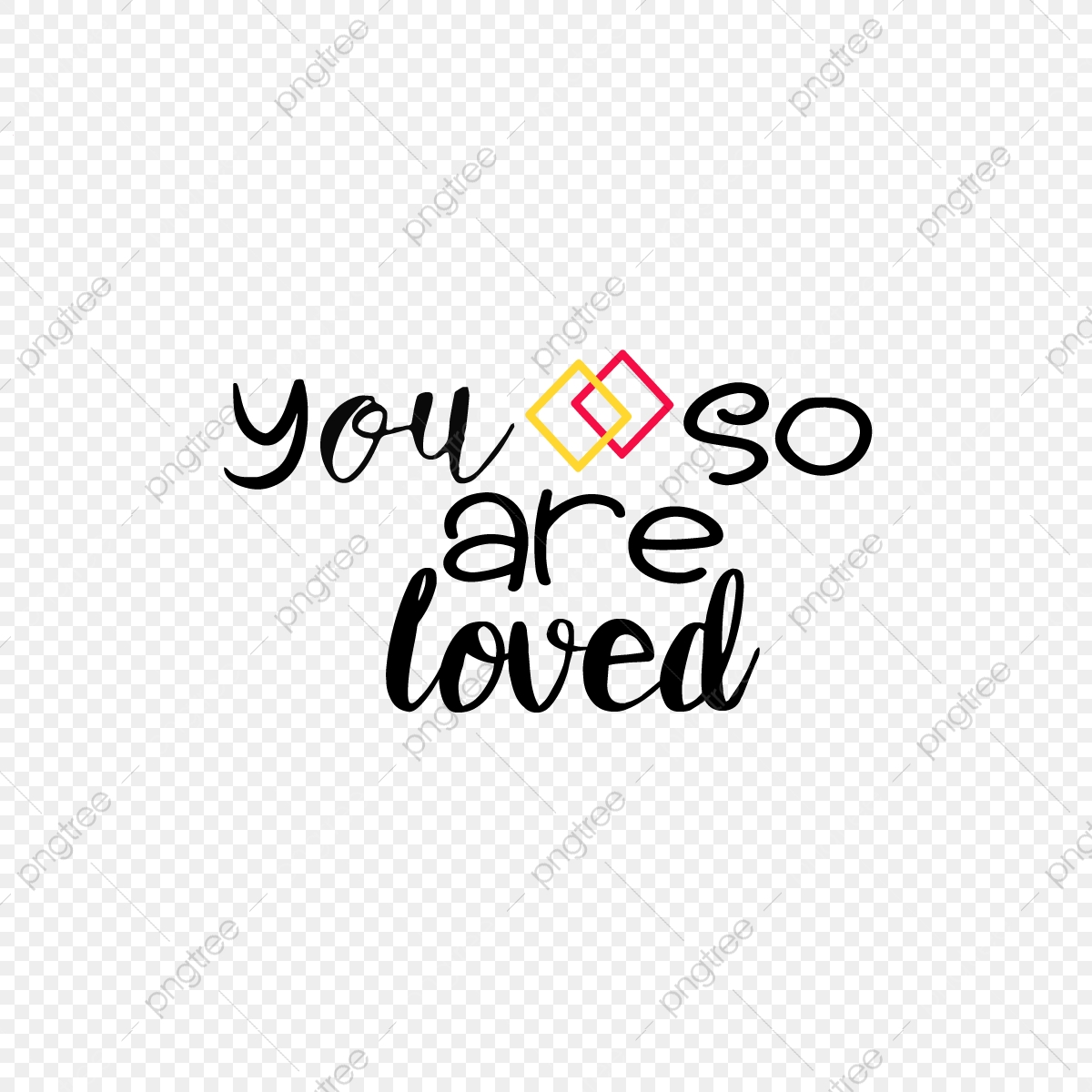 Geometric Minimalist Handwriting You Are So Loved Svg Phrase Font Effect Eps For Free Download