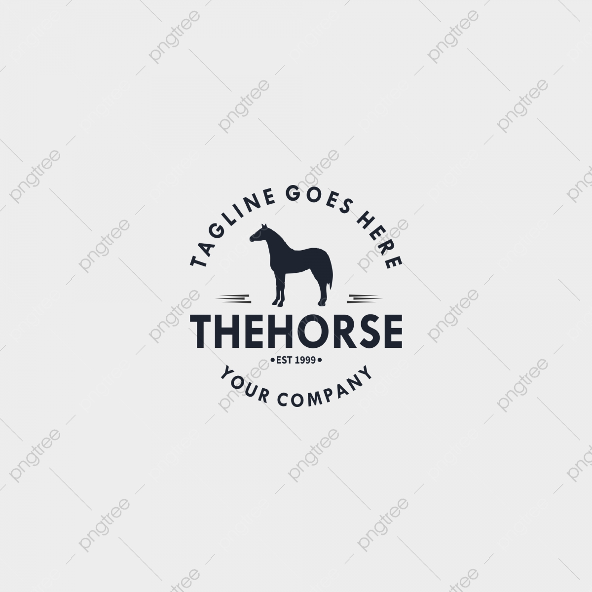 Horse Vintage Logo Design Template Design Elements For Logo Label Emblem Sign Vector Illustration Vector Template Download On Pngtree