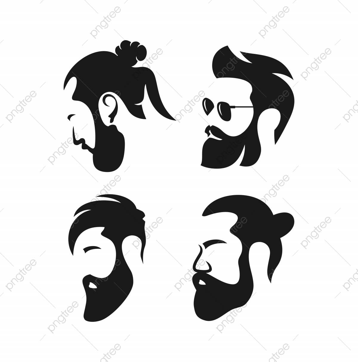 Hair Salon Logo Png Vector Psd And Clipart With Transparent Background For Free Download Pngtree