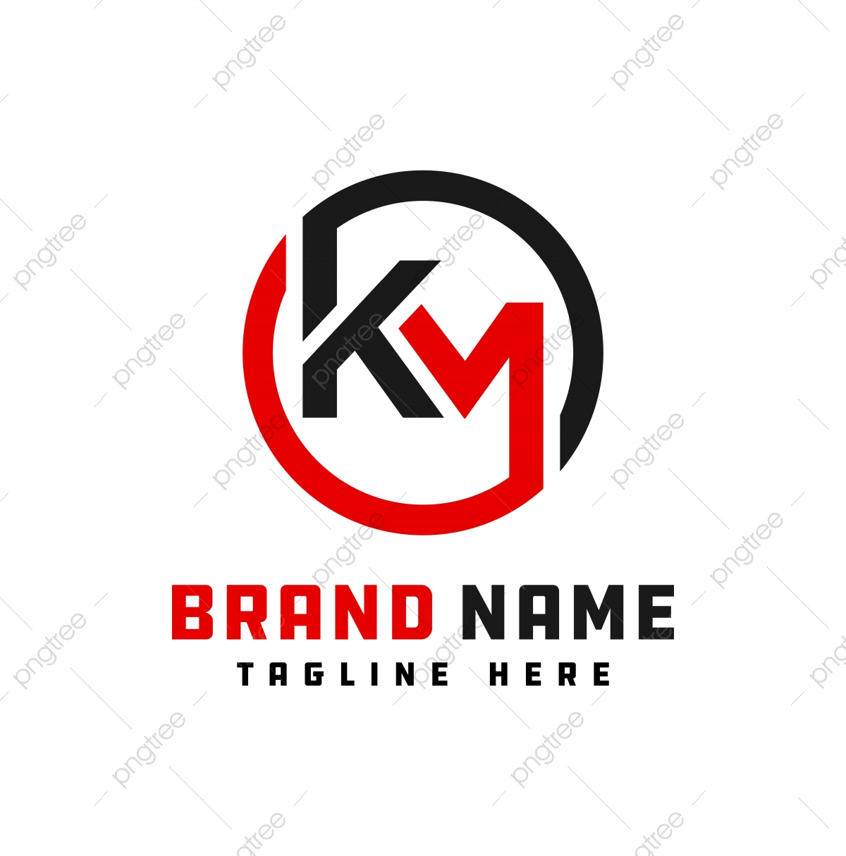 Monogram Logo Design Letter Km Template For Free Download On Pngtree