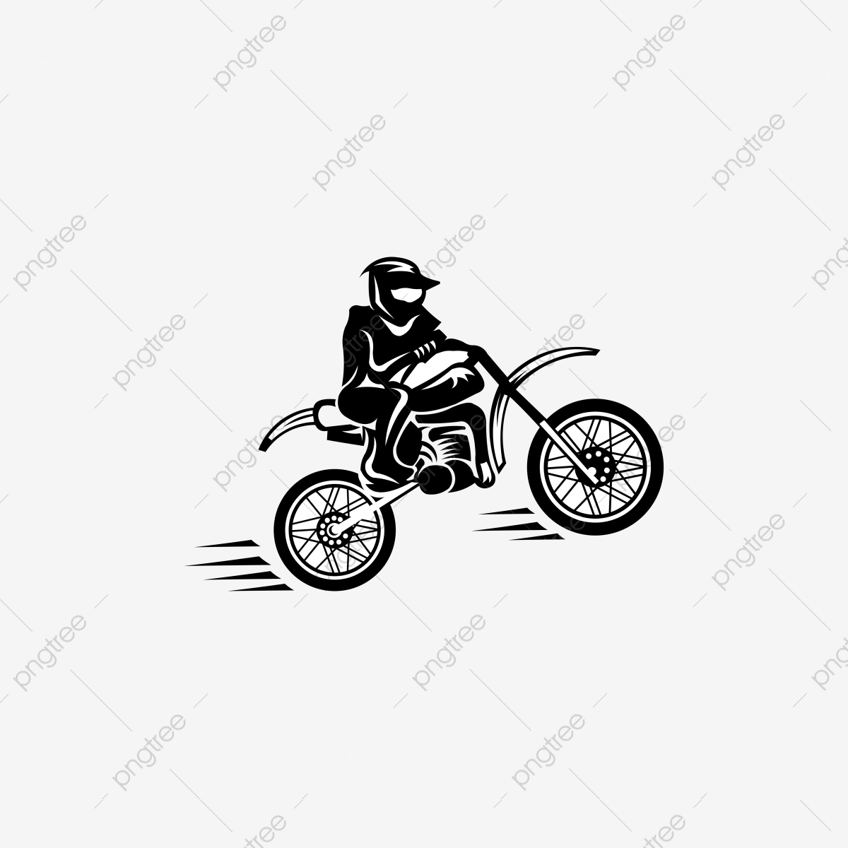 Motocross Rider And Motorcycle Template Download On Pngtree