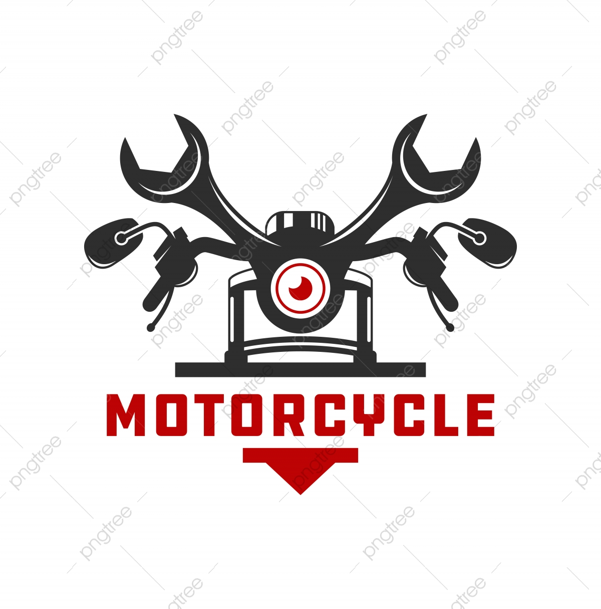 Motorcycle Repair Logo Design Template Download On Pngtree