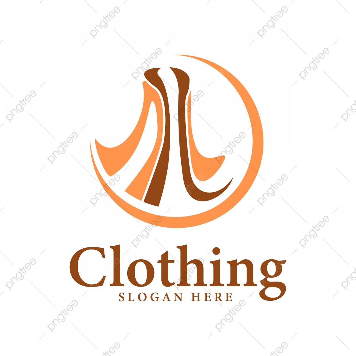 Orange Fashion Women Boutique Clothing Beautiful Logo Design Tem Template For Free Download On Pngtree