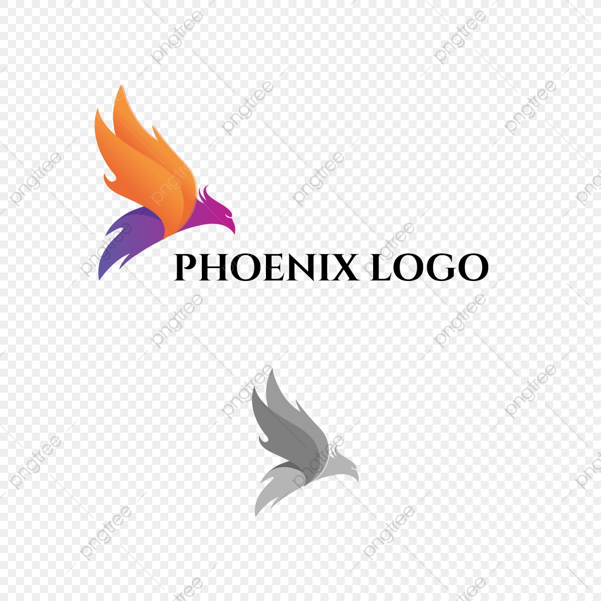 Phoenix Bird Logo Design Template For Free Download On Pngtree