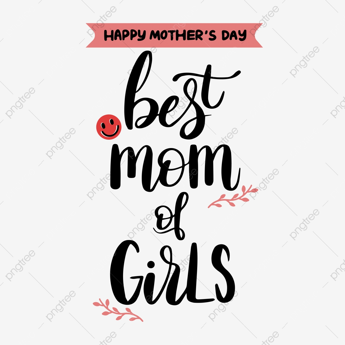 Free Mothers day simple hand drawn svg flower art word. Pink Cute Hand Painted Mothers Day Svg Flower Art Word Font Effect Eps For Free Download SVG, PNG, EPS, DXF File