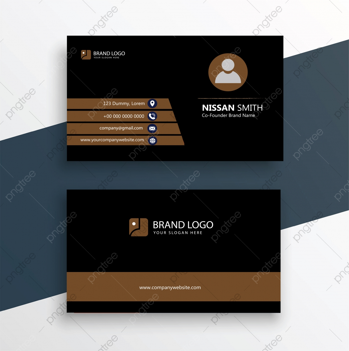 Business Card Design Template from png.pngtree.com