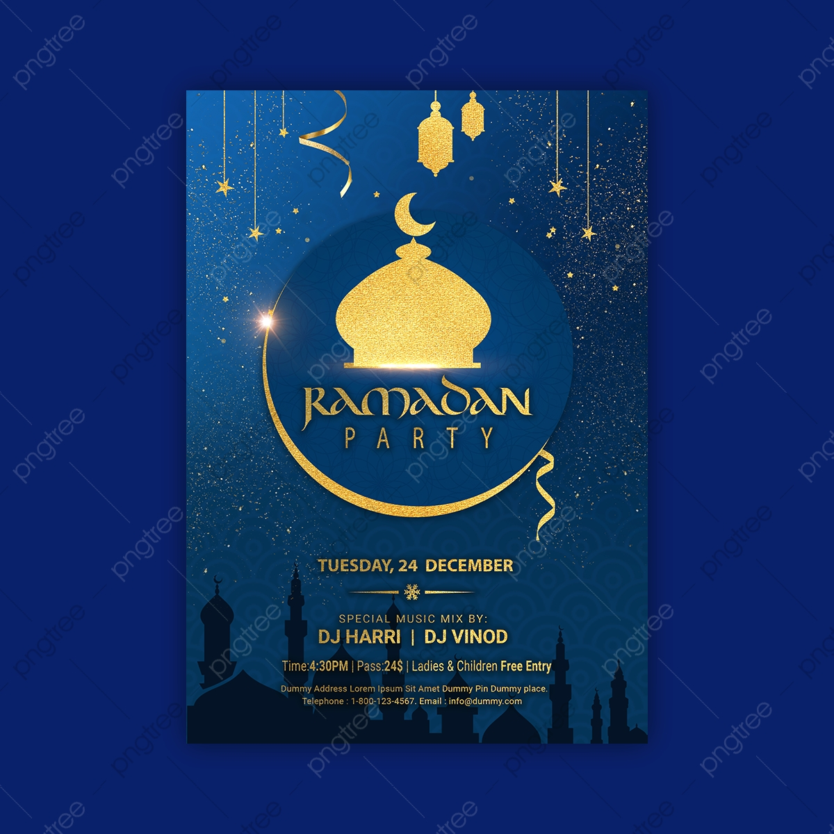 Ramadan Iftar Party Invitation Poster Template Template Download On Pngtree