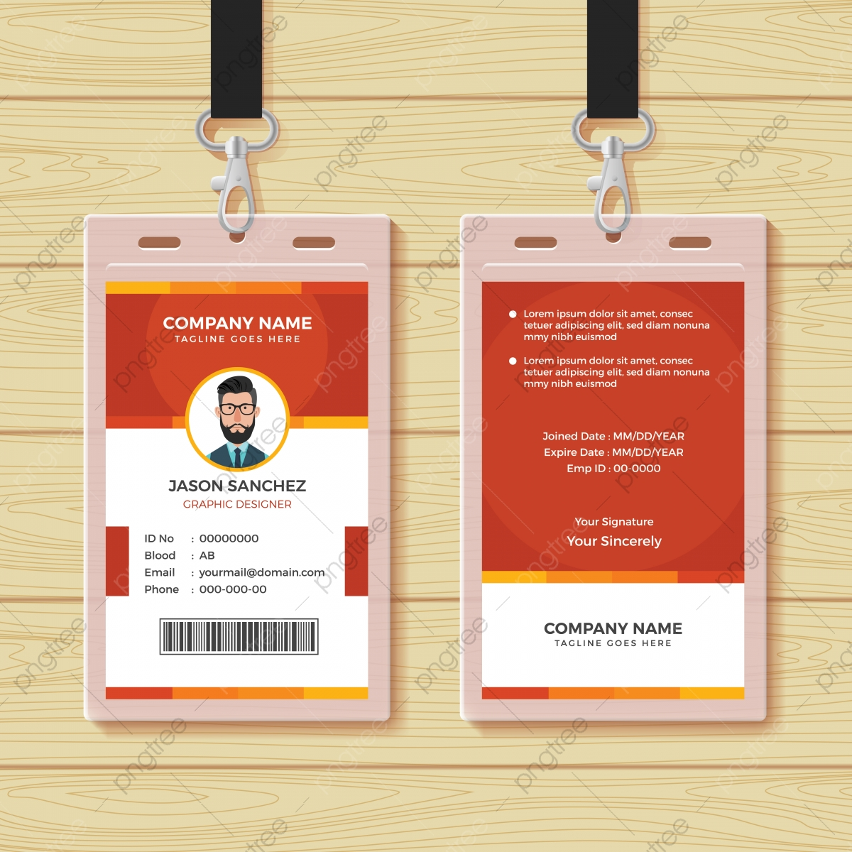 Id Card Png Vector Psd And Clipart With Transparent Background For Free Download Pngtree