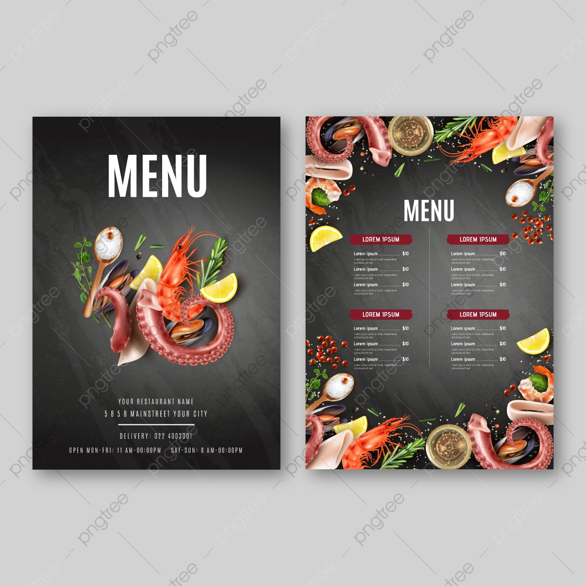 Restaurant Cafe First Food Menu Template Design Food Flyer Restaurant Food Menu Design With Chalkboard Background Menu Design Template With Colorful Pattern Restaurant Cafe Menu Template Template Download On Pngtree