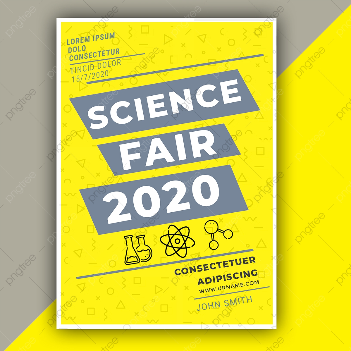 Science Fair 21 Poster Template Download on Pngtree In Science Fair Banner Template