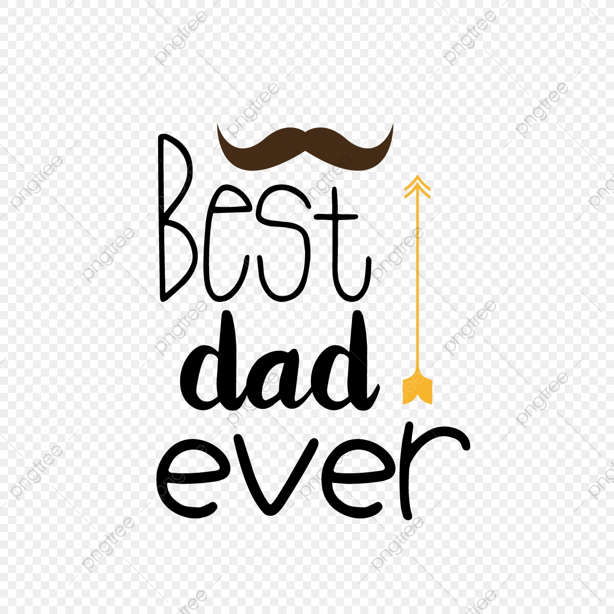 Simple And Very Good Dad Svg Art Word Sentence Font Effect Eps For Free Download