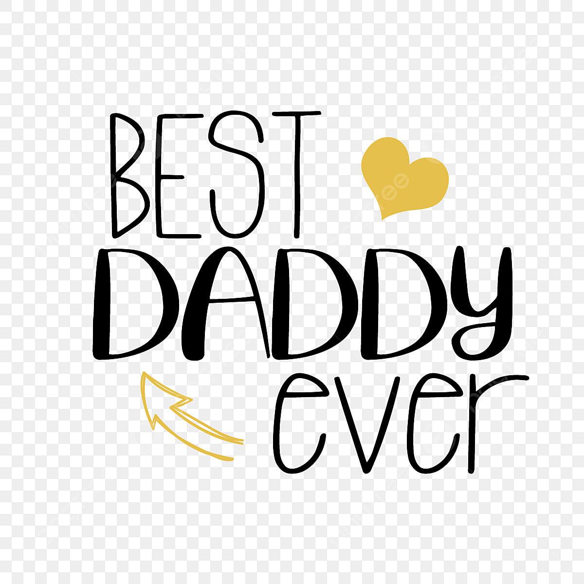 Simple Love Best Dad Phrase Svg Font Effect Eps For Free Download