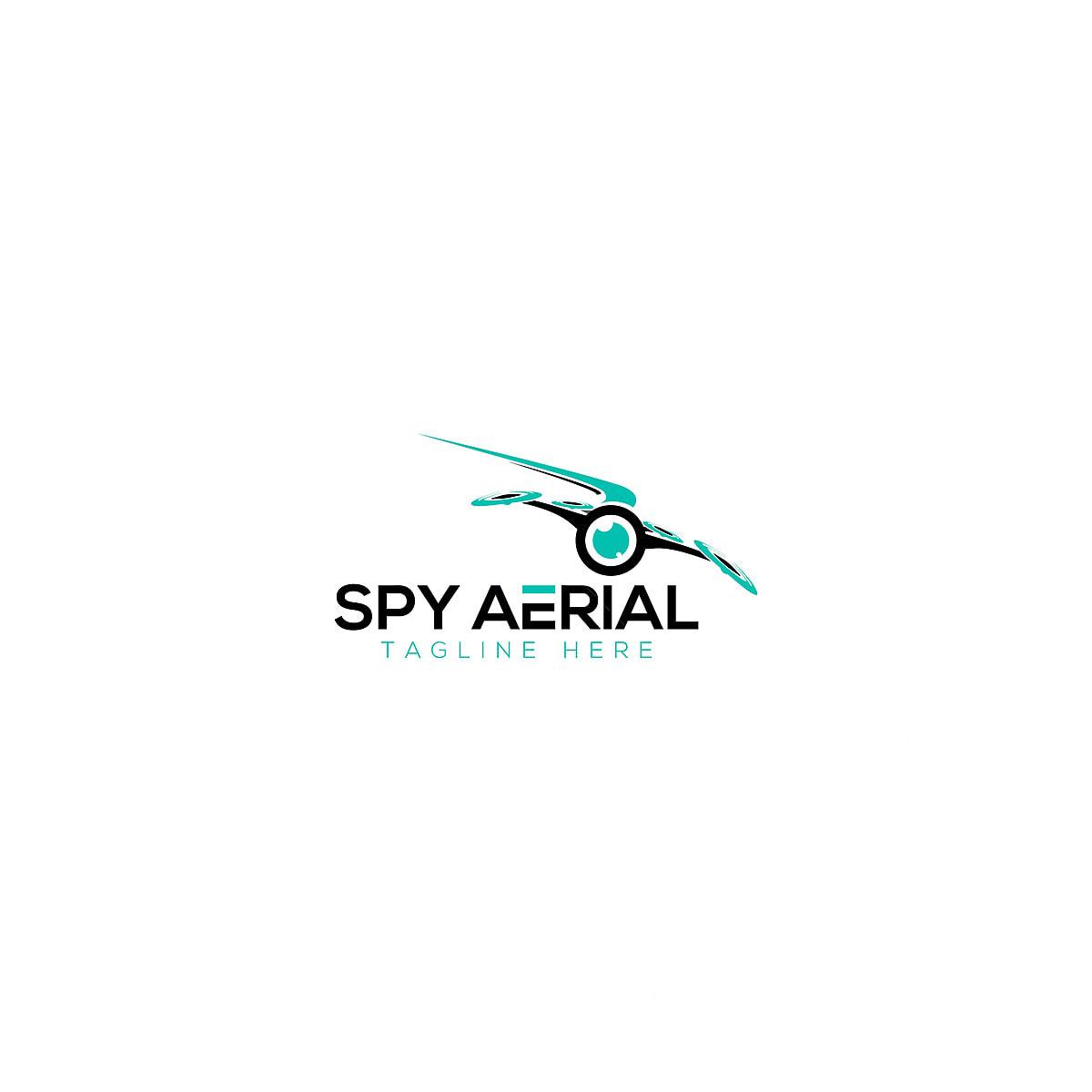 spy aerial and drone logo design template for free download on pngtree spy aerial and drone logo design