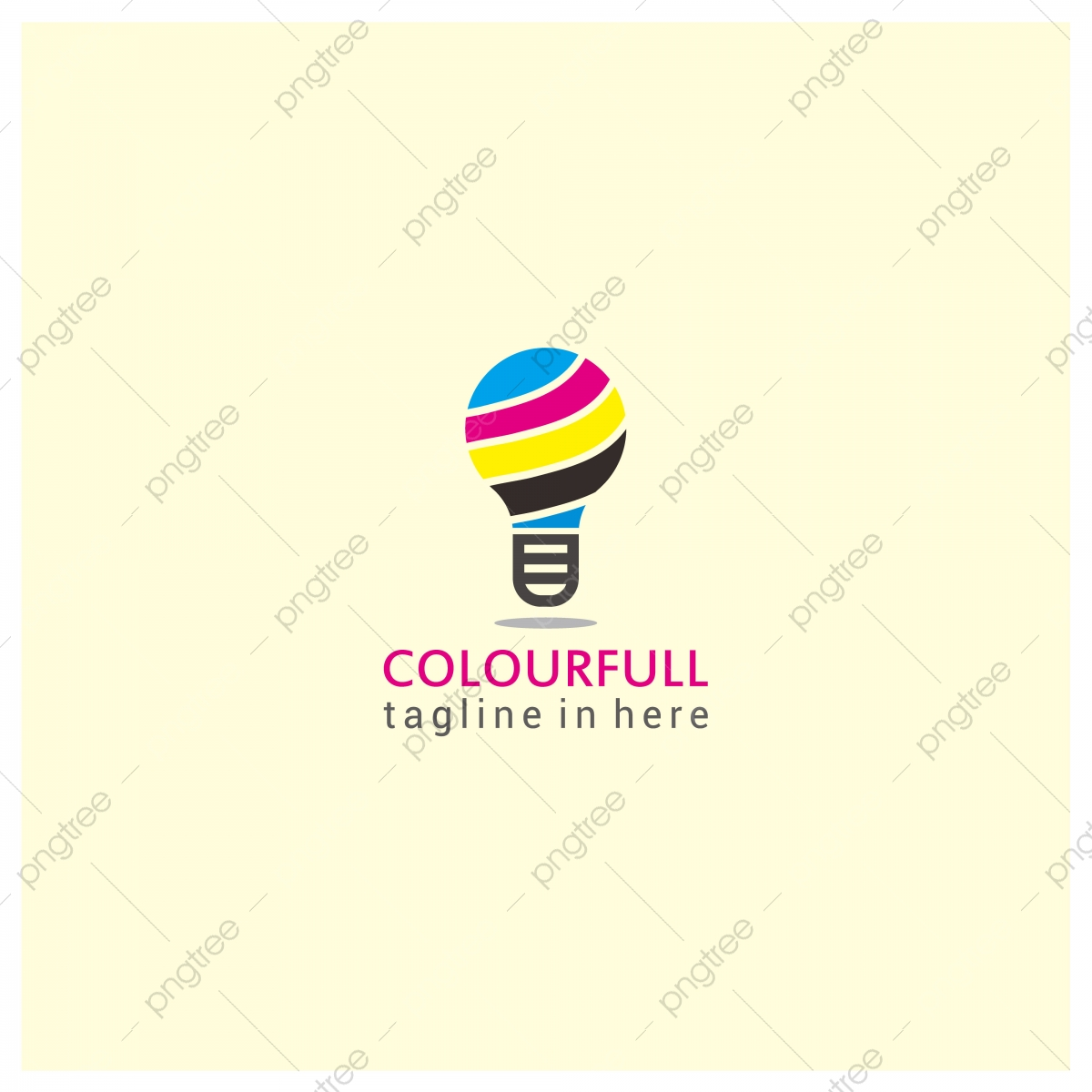 Stock Vector Creative Idea Light Bulb Color Lamp Logo Design Template For Free Download On Pngtree