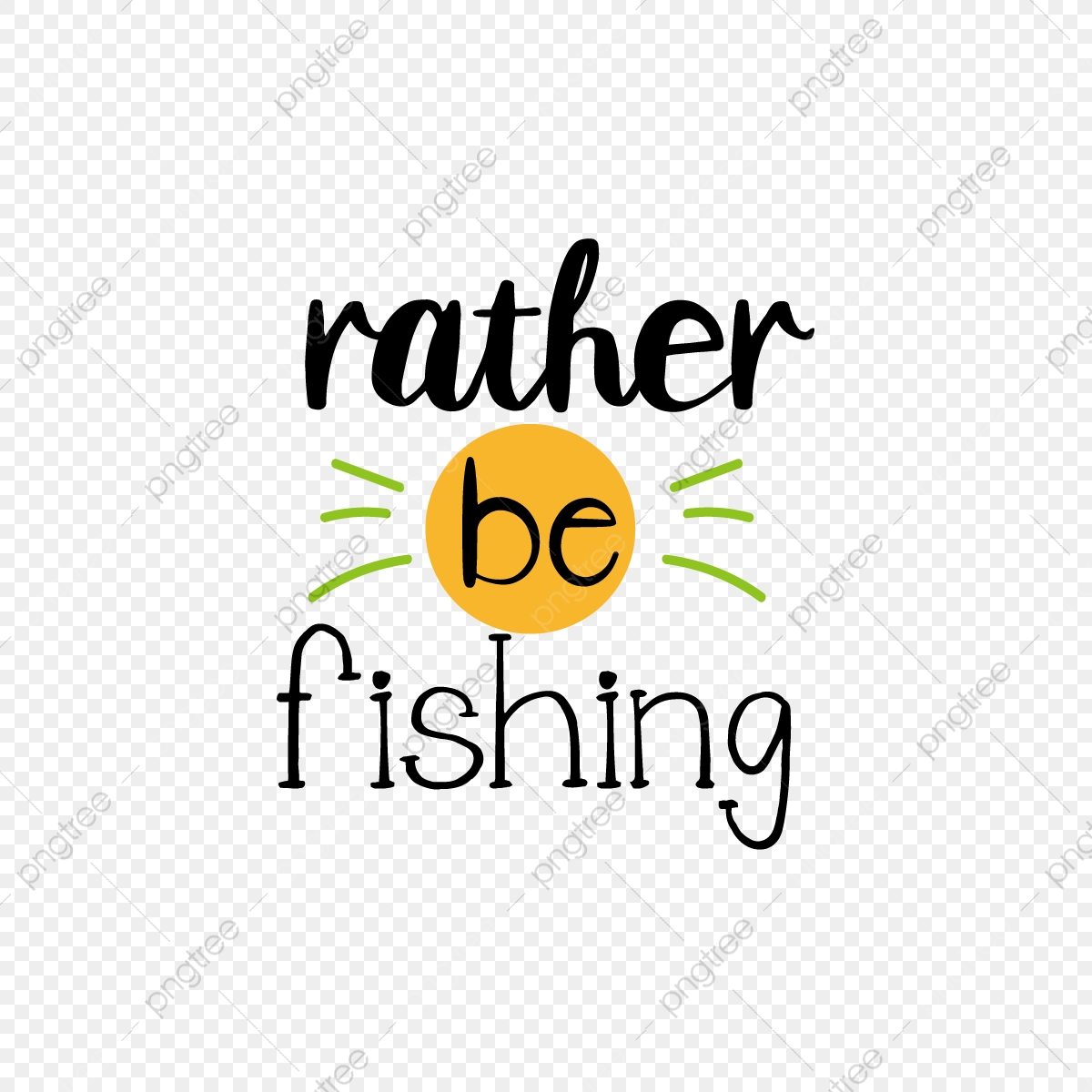 Download Svg Cartoon Black Hand Drawn Illustration Would Rather Go Fishing English Letters Font Effect Eps For Free Download