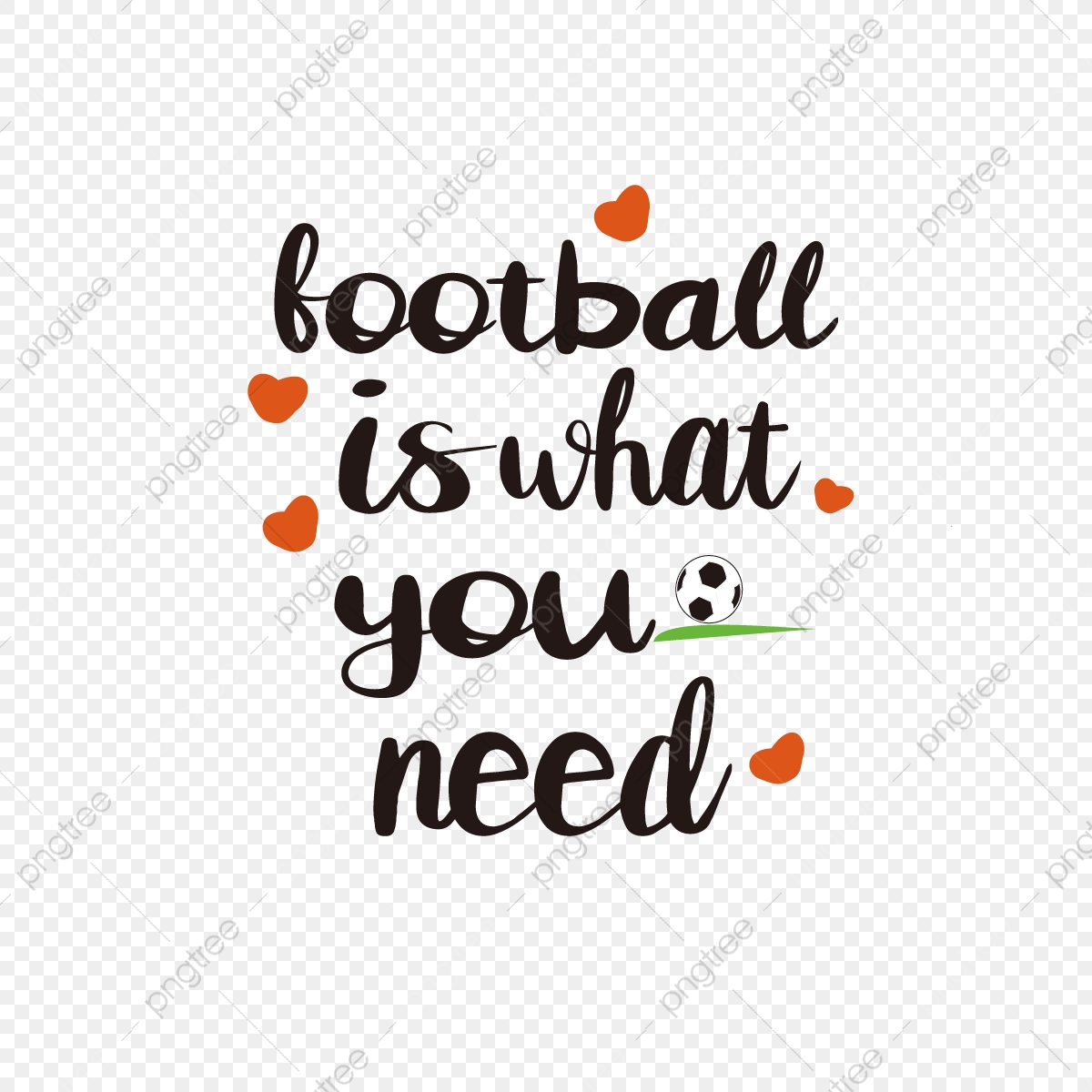 Svg Football Is The English Phrase Love You Need Font Effect Eps For Free Download