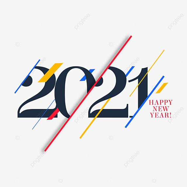 2021 line creative art word