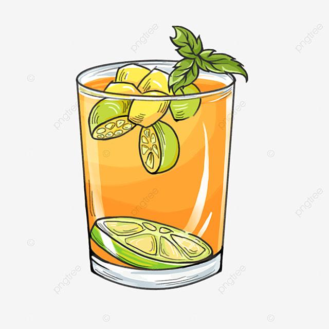 jus jeruk dan irisan lemon hijau dalam gelas bening kaca cangkir cangkir jus png transparan gambar clipart dan file psd untuk unduh gratis pngtree
