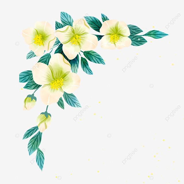 Bunga Gradien Kuning Pada Cabang Dengan Daun Biru Biru Daun Daun Merambat Png Transparan Gambar Clipart Dan File Psd Untuk Unduh Gratis