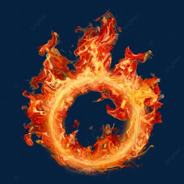 Реалистичный ветер красный оранжевый желтый бушующий огонь горящий огненный  круг пламя огненный горящий огненный круг, пламя, Огненное кольцо, Пожар  PNG и PSD-файл пнг для бесплатной загрузки