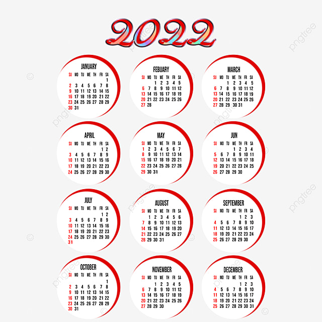 2022 19 Calendar.Year 2022 Calendar With Beautiful Design Year 2022 Calendar Png Transparent Clipart Image And Psd File For Free Download