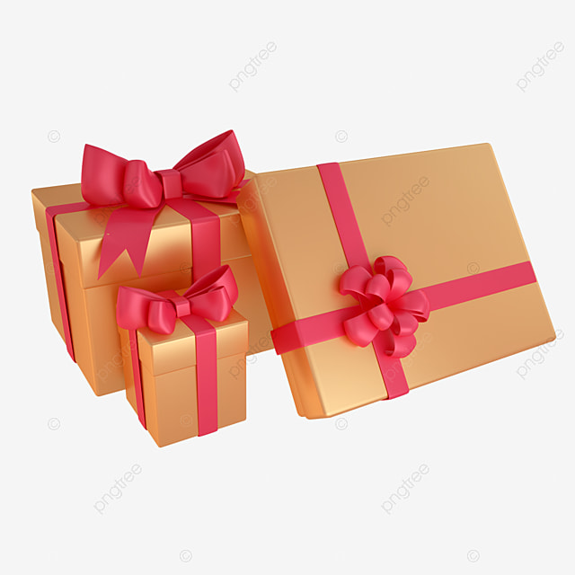 3d boxing day gift box