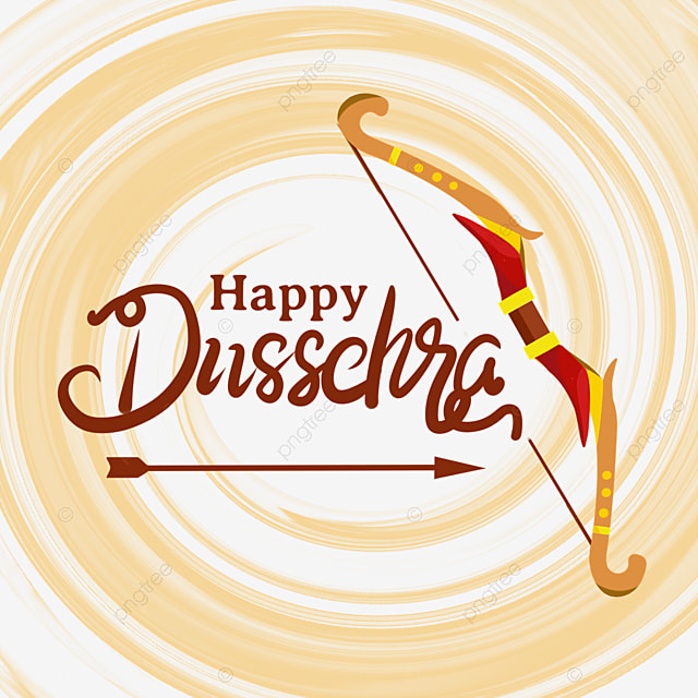 dussehra ink texture shading bow and arrow