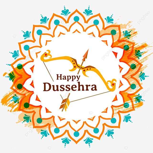 dussehra religious shading bow element