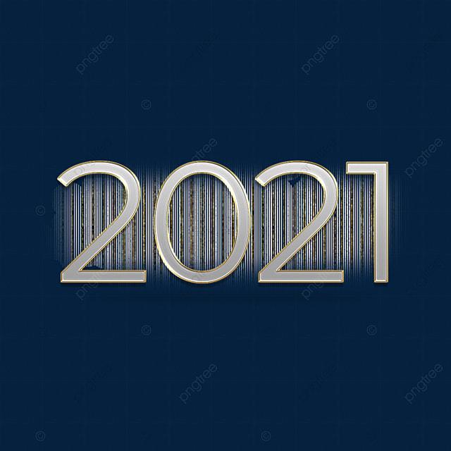 striped metal texture 2021 font
