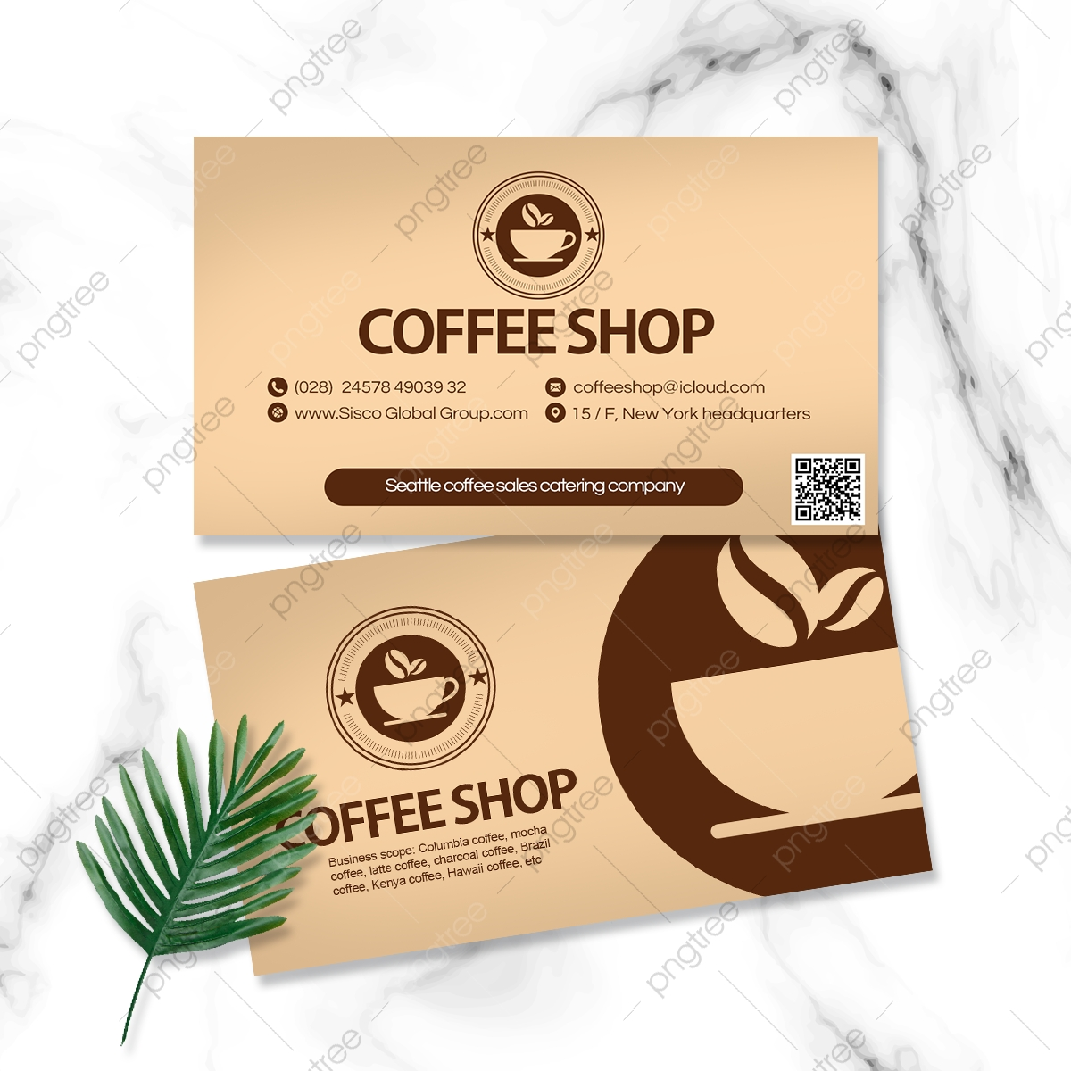Coffee Bar Card Images, Business Card, Business Card Template In Coffee Business Card Template Free