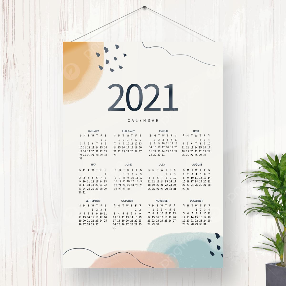 Kalender 2021 Aesthetic